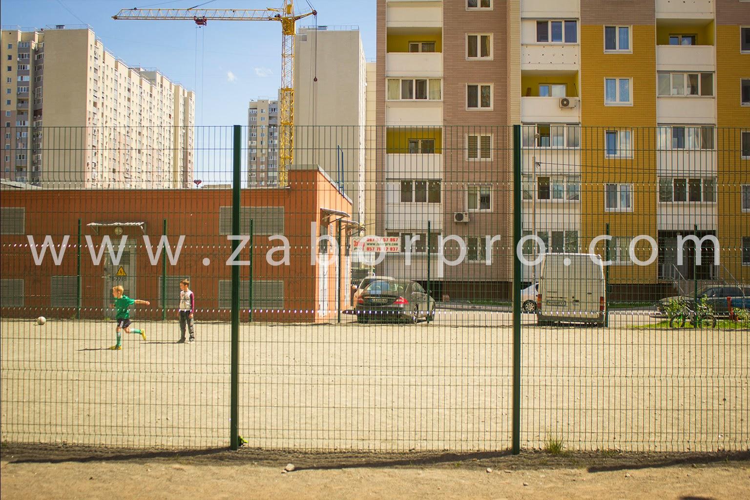 ограждение многоквартирного дома, спортивной и детской площадок-0006
