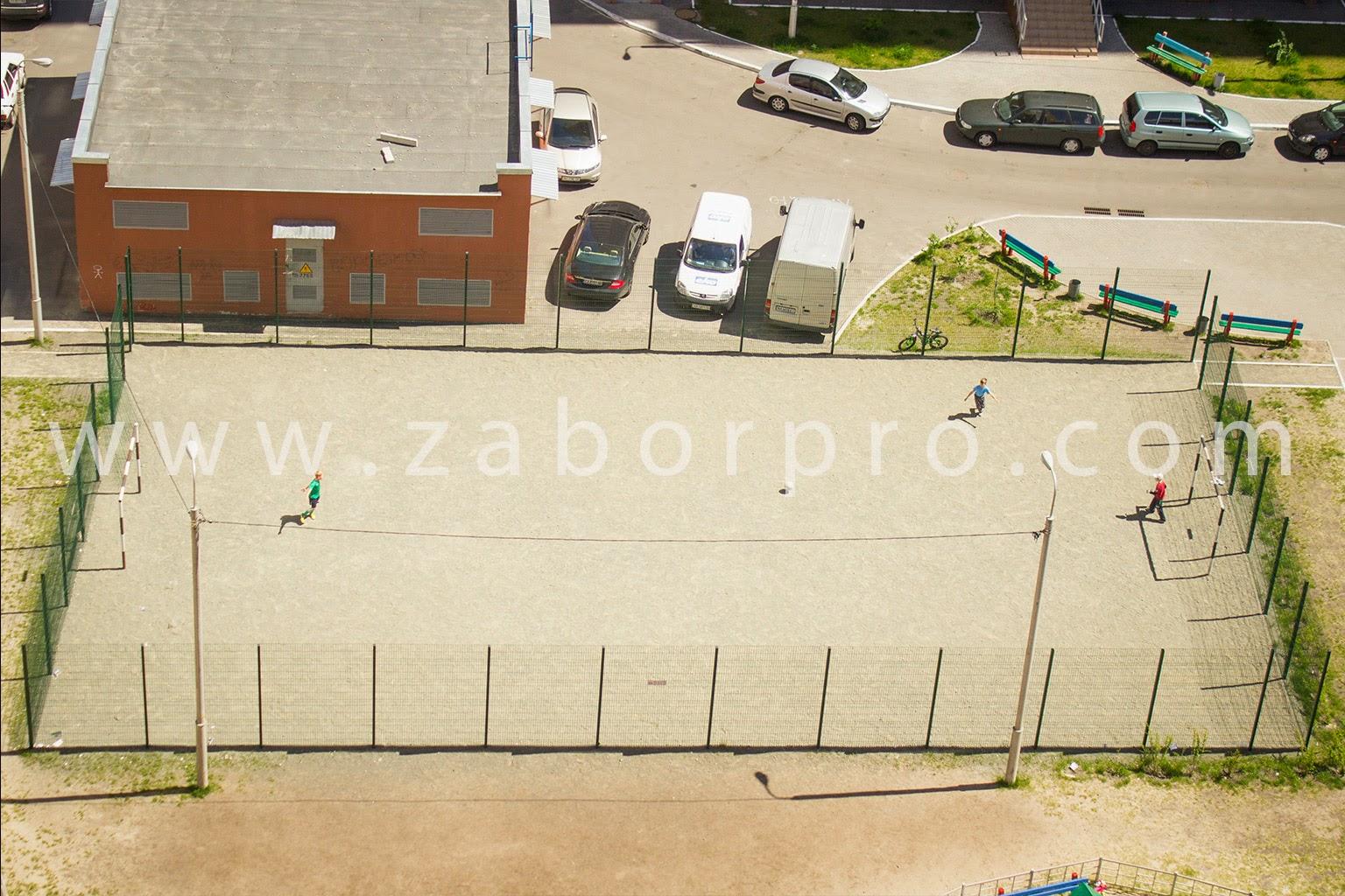 ограждение многоквартирного дома, спортивной и детской площадок-0022