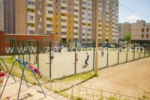 ограждение многоквартирного дома, спортивной и детской площадок-0003