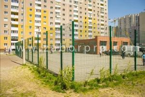 ограждение многоквартирного дома, спортивной и детской площадок-0008