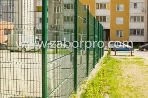 ограждение многоквартирного дома, спортивной и детской площадок-0009