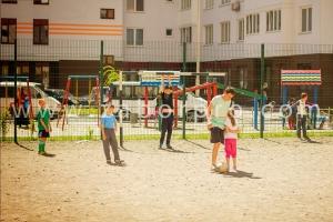 ограждение многоквартирного дома, спортивной и детской площадок-0016