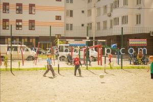 ограждение многоквартирного дома, спортивной и детской площадок-0027