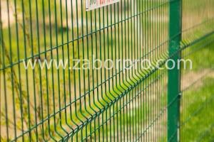 ограждение многоквартирного дома, спортивной и детской площадок-0044