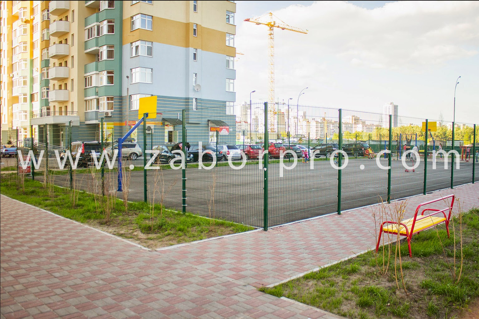 Спортивная площадка-0062
