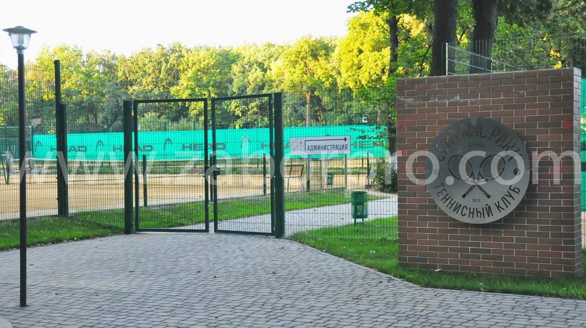 ограждение тенисного корта-0001