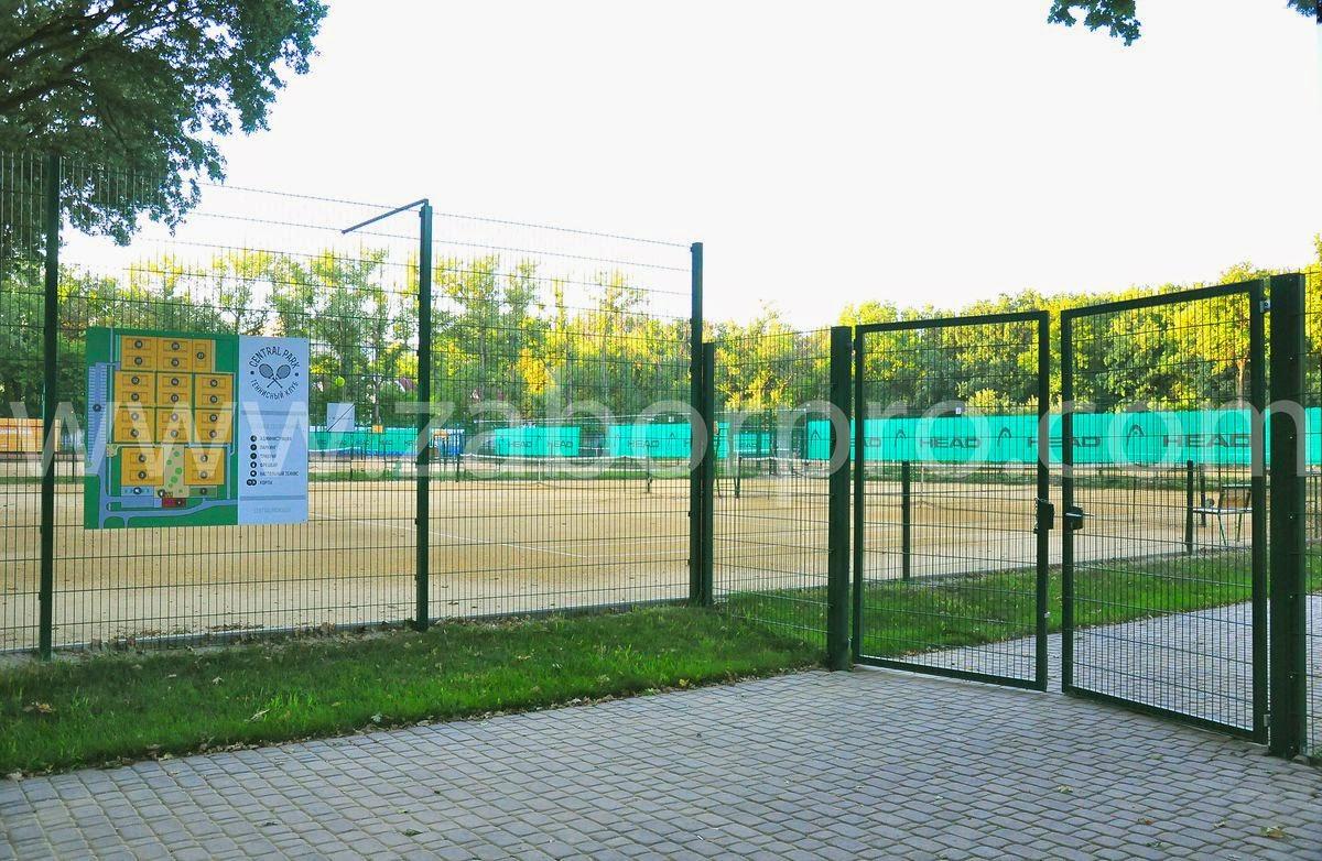 ограждение тенисного корта-0004