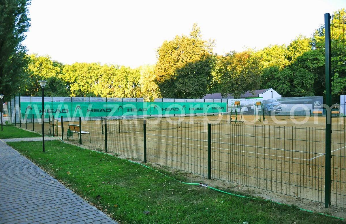 ограждение тенисного корта-0006