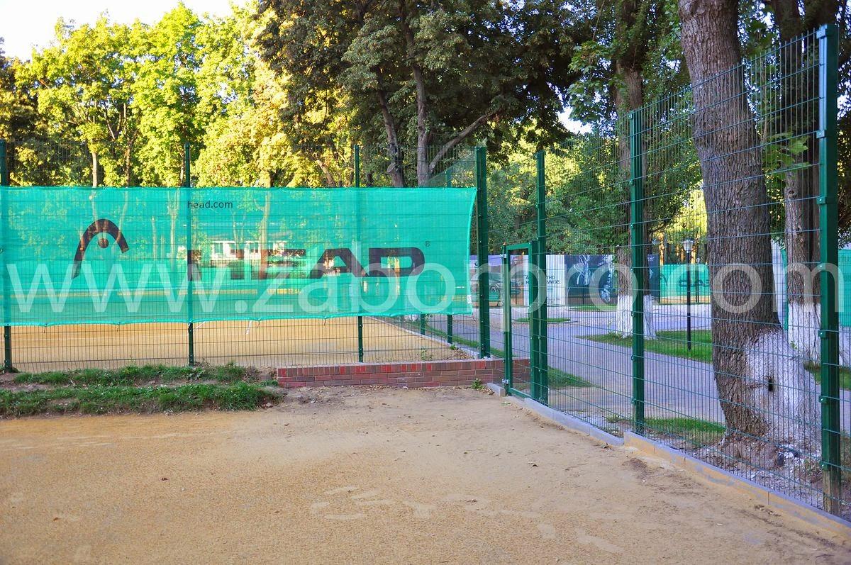 ограждение тенисного корта-0009