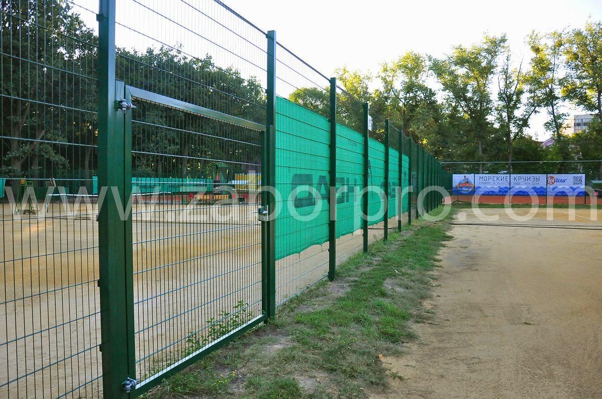 ограждение тенисного корта-0011