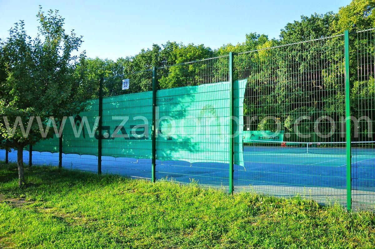 ограждение тенисного корта-0012