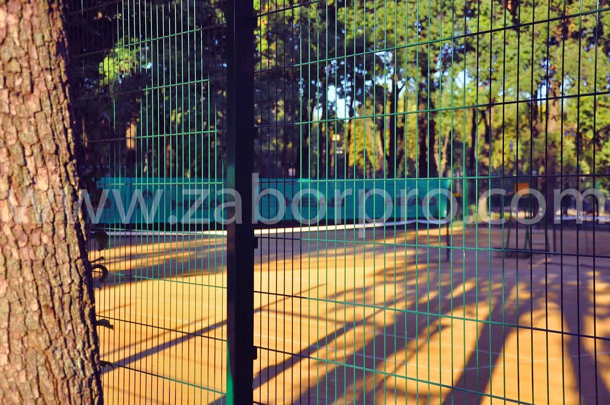 ограждение тенисного корта-0019