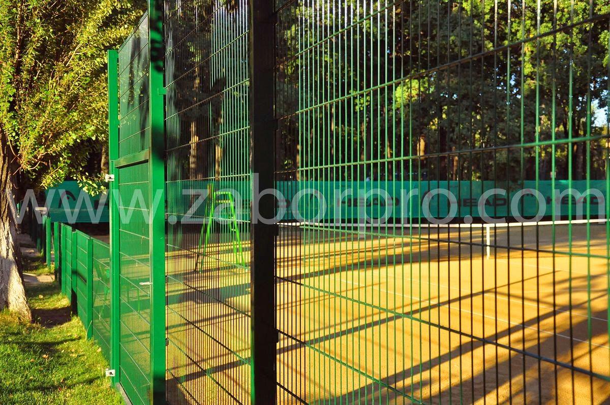 ограждение тенисного корта-0020