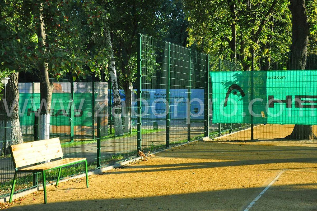 ограждение тенисного корта-0022