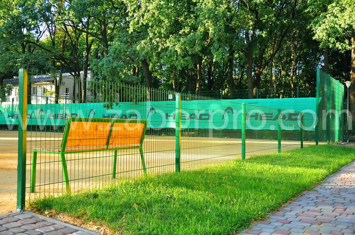 ограждение тенисного корта-0026