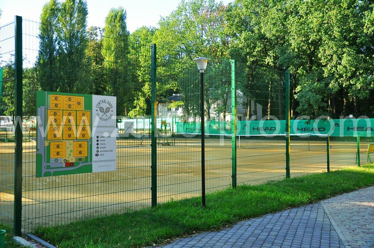 ограждение тенисного корта-0028
