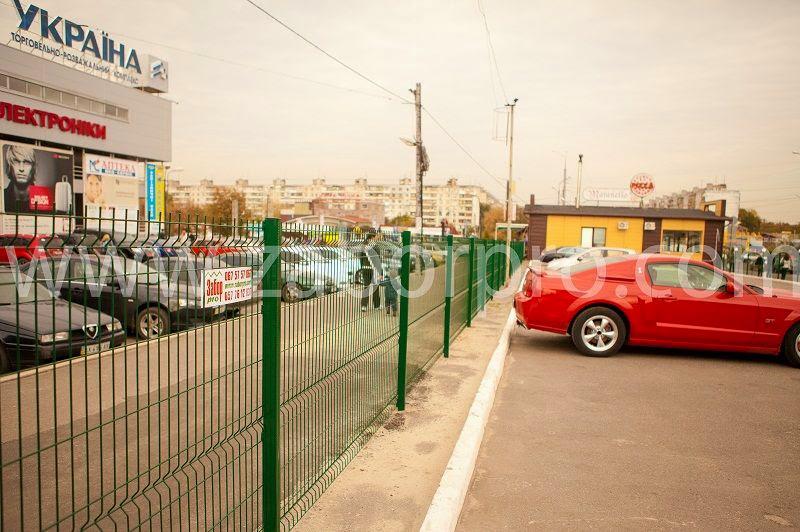 Ограждение парковки (1)