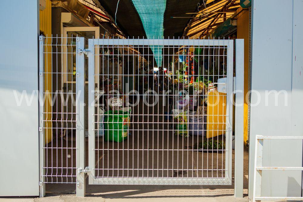 Ворота распашные-13