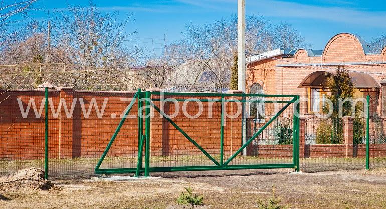 Откатные ворота (11)