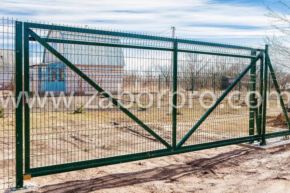 Откатные ворота (15)