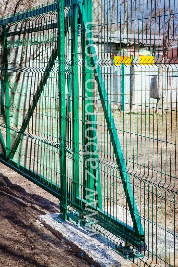 Откатные ворота (18)