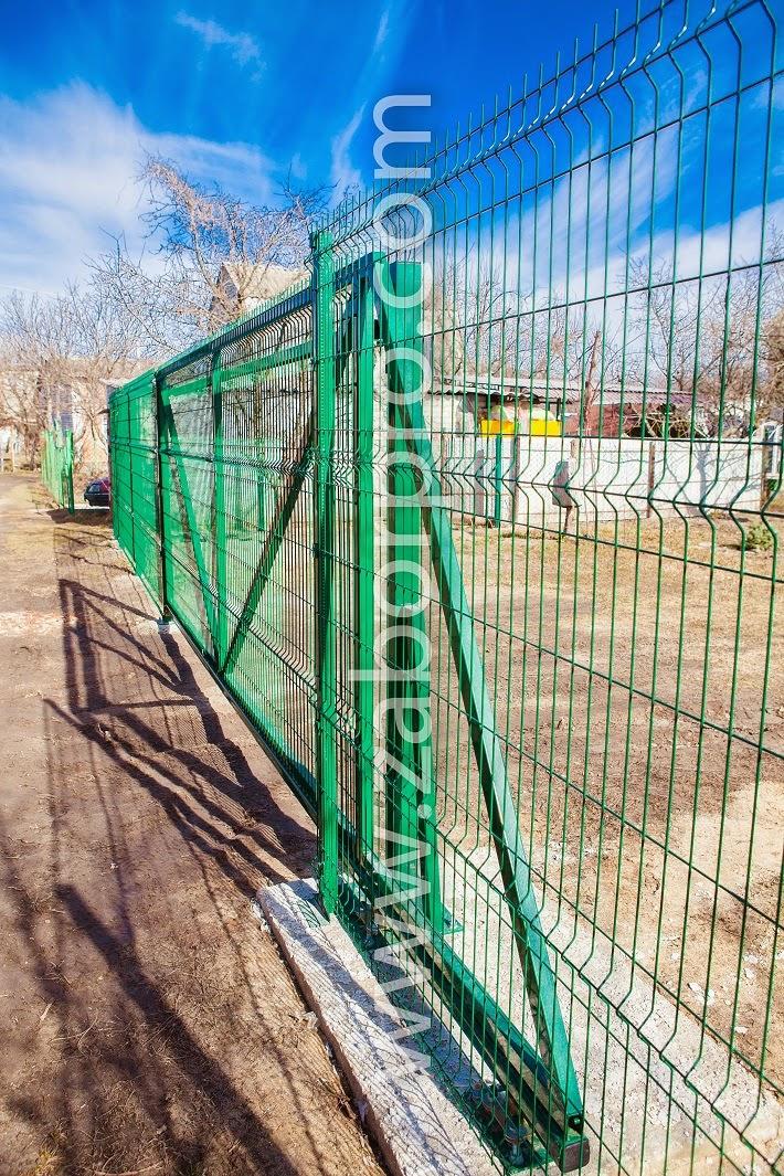 Откатные ворота (3)