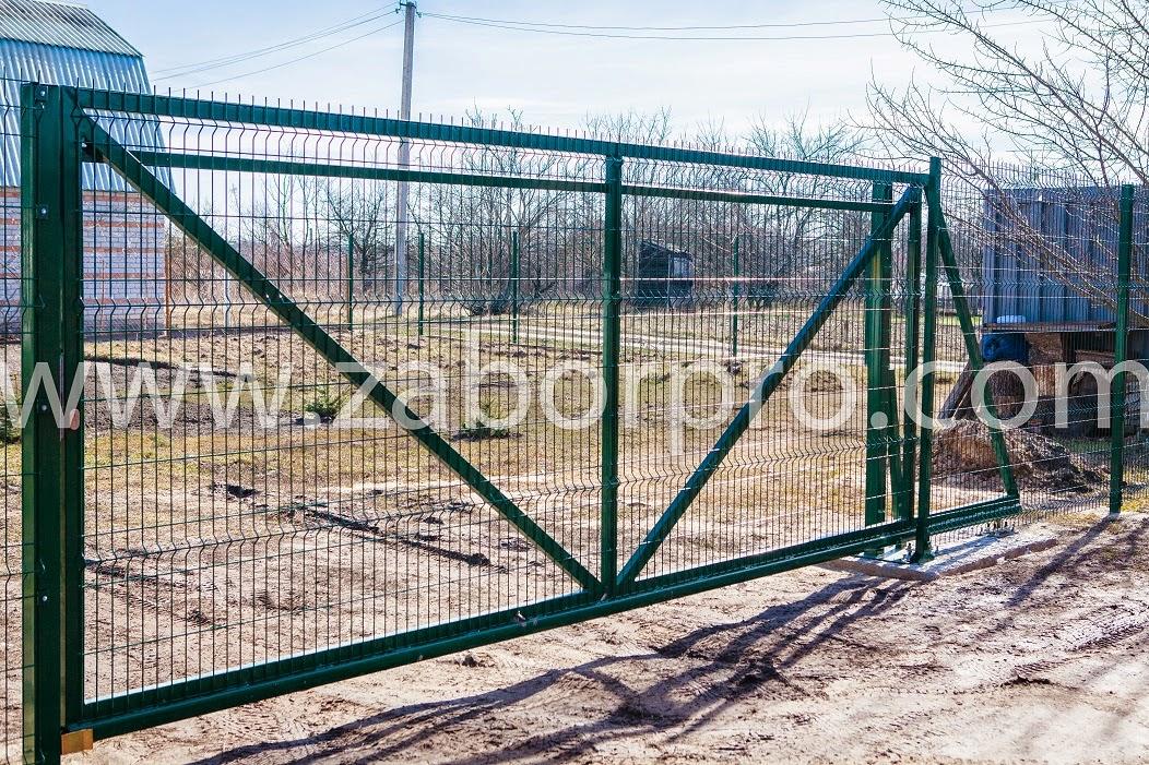 Откатные ворота (8)