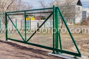 Откатные ворота (19)