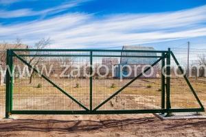 Откатные ворота (7)
