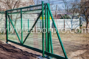 Откатные ворота (9)
